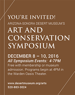 Art and Conservation symposium December 8-10, 2016. All Symposium Events: 4-7pm. Free with membership or museum admission.