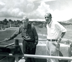 Arthur Pack and Bill Carr