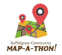 Buffelgrass Community Map-A-Thon Logo