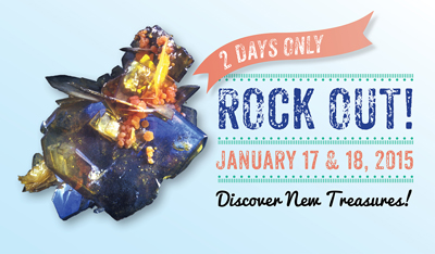 Mineral Madness - January 17-18, 2015