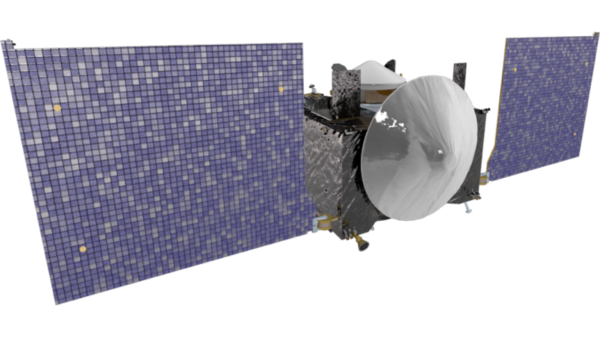 Photo of the satellite used inthe OSIRIS-REx Mission