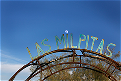 Las Milpitas entrance sign