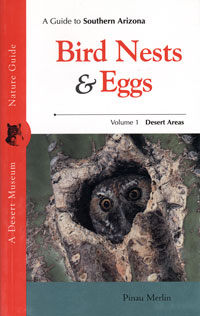 Cover - A Guide to Southern Arizona Bird Nests & Eggs