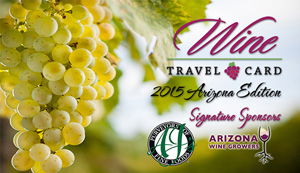 The Wine Travel Card - 2013 Arizona Edition