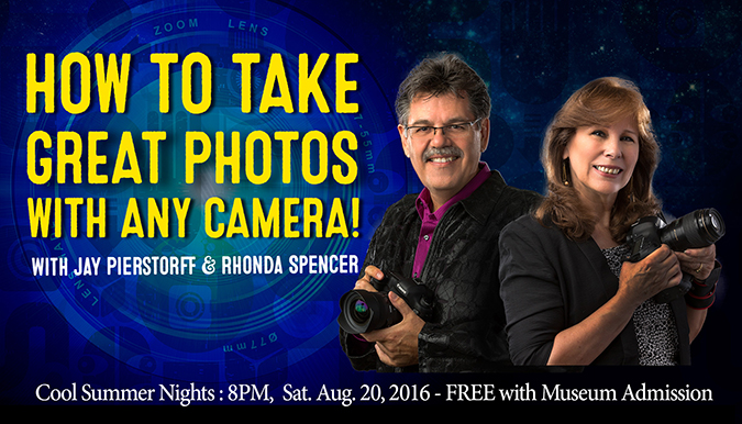 How to take Great Photos with any Camera with Jay Pierstorff and Rhonda Spencer
